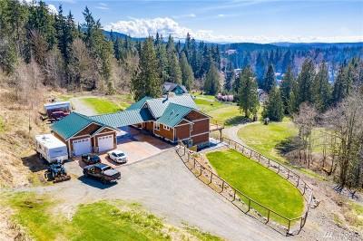 Granite Falls Single Family Home For Sale: 20819 Menzel Lake Rd