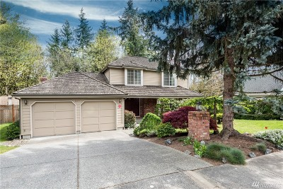 Bellevue WA Single Family Home For Sale: $835,000
