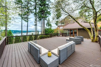 Sammamish Single Family Home For Sale: 20606 NE 15th St
