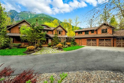 North Bend WA Single Family Home For Sale: $2,075,000