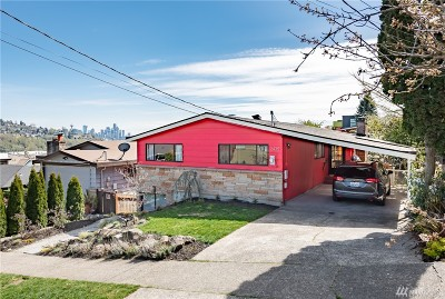 Seattle Single Family Home For Sale: 2435 W Lynn St