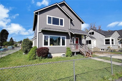 Tacoma Single Family Home For Sale: 2356 S M St