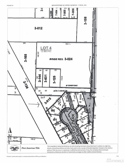 Tacoma Residential Lots & Land For Sale: 13 E 46th St