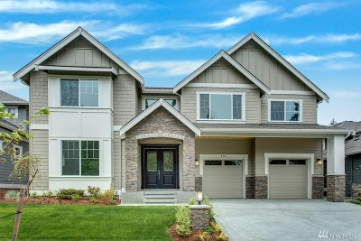 Sammamish Single Family Home For Sale: 2711 242nd Ave SE #Lot9