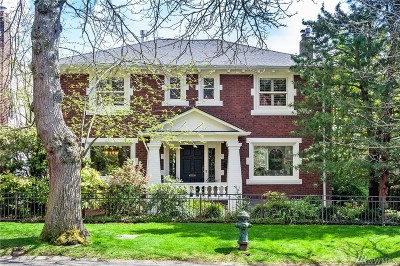 Seattle Single Family Home For Sale: 1228 Bigelow Ave N