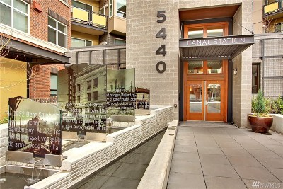 Condo/Townhouse Sold: 5440 Leary Ave NW #430