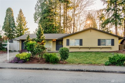 Bellevue Single Family Home For Sale: 1540 168th Ave NE