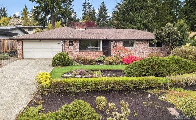 Bellevue Single Family Home For Sale: 16702 SE 30th St
