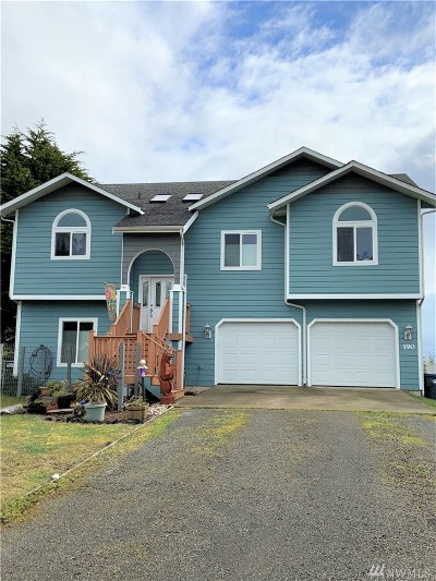 Grays Harbor County Single Family Home For Sale: 190 Olympic View Ave NE