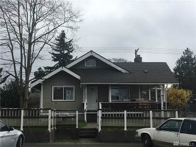 Tacoma Single Family Home For Sale: 5423 S Pine St