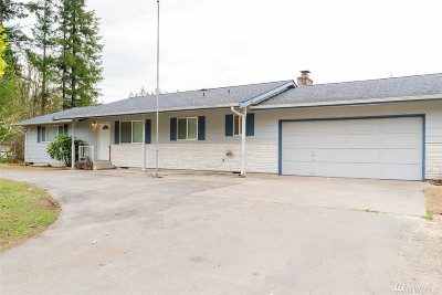 Yelm Single Family Home Pending Inspection: 16005 148th Ave SE