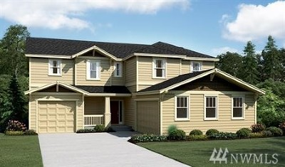 Bonney Lake Single Family Home Contingent: 20125 146th St E