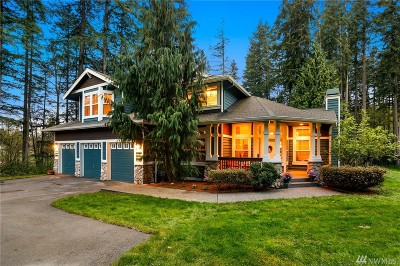 Woodinville Single Family Home For Sale: 19545 166th Ave NE