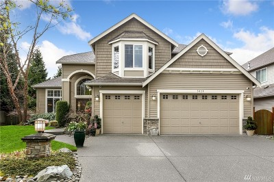 Bothell Single Family Home For Sale: 3828 207th Place SE