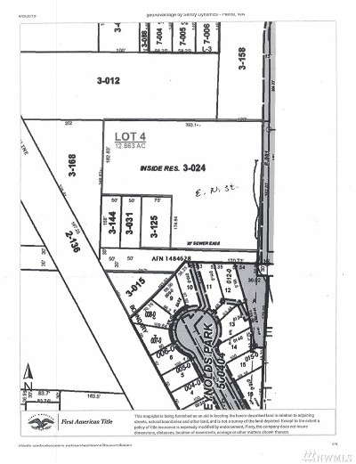 Tacoma Residential Lots & Land For Sale: 46 E N St