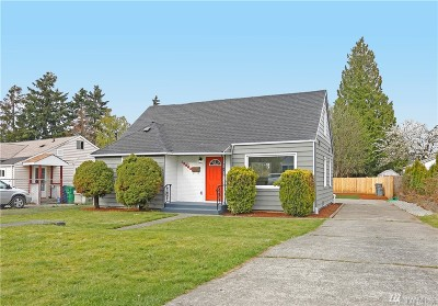 Seattle Single Family Home For Sale: 12062 69th Ave S
