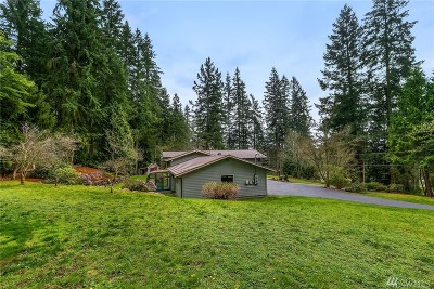Woodinville Single Family Home For Sale: 14919 NE 163rd St