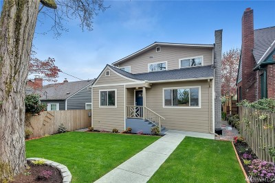 Seattle Single Family Home For Sale: 10036 California Ave SW