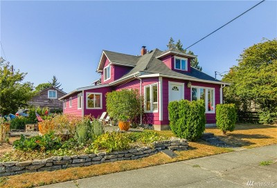 Bellingham Single Family Home For Sale: 2301 J St