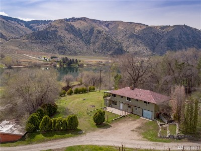 Chelan County Single Family Home For Sale: 509 Stayman Flats Rd