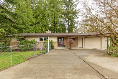 Tumwater Single Family Home For Sale: 1005 Lake Park Dr SW