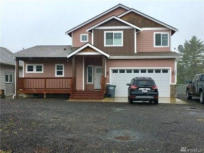 Grays Harbor County Single Family Home For Sale: 289 Canal St NE