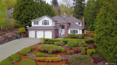 Bellevue WA Single Family Home For Sale: $1,250,000