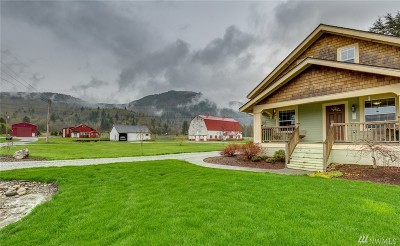 Deming Single Family Home For Sale: 6338 Mt. Baker Hwy