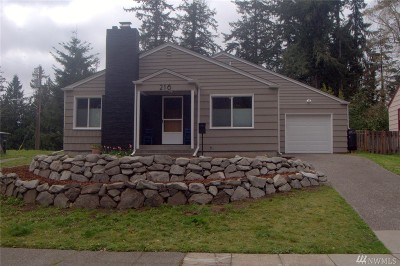 Fircrest Single Family Home For Sale: 216 Del Monte Ave