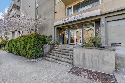 Seattle Condo/Townhouse For Sale: 1525 Taylor Ave N #307