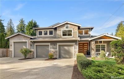 Kirkland Single Family Home For Sale: 11457 108th Ave NE