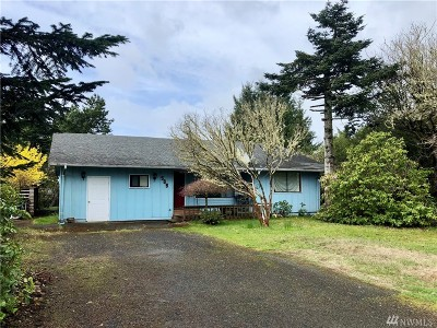 Grays Harbor County Single Family Home For Sale: 509 Canal Dr SE