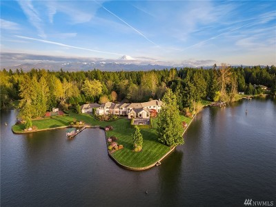 Lake Tapps WA Single Family Home For Sale: $3,488,000