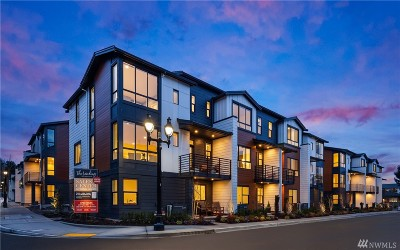Bothell Condo/Townhouse For Sale: 18314 96th Dr NE #B