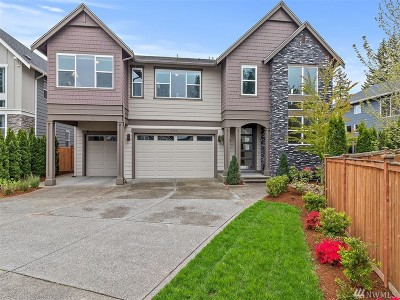 Renton Single Family Home For Sale: 5127 NE 2nd Place