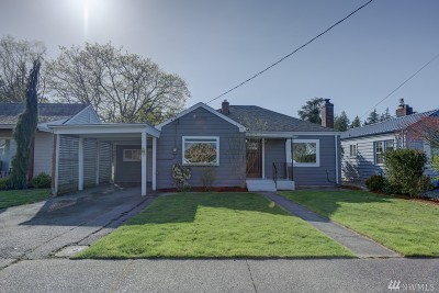 Mount Vernon Single Family Home Pending Inspection: 1417 S 12th St