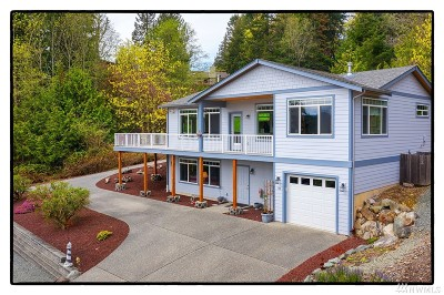La Conner Single Family Home For Sale: 235 Skagit Wy