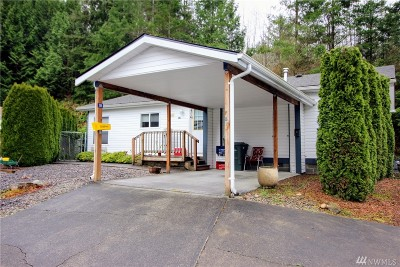 Bellingham Condo/Townhouse Pending Inspection: 4949 Samish Wy #38