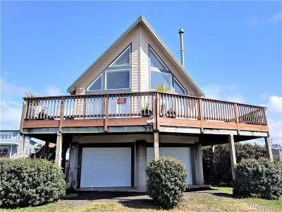 Grays Harbor County Single Family Home For Sale: 33 1st St S