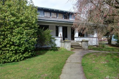 Sedro Woolley Single Family Home Pending Inspection: 804 Ferry St
