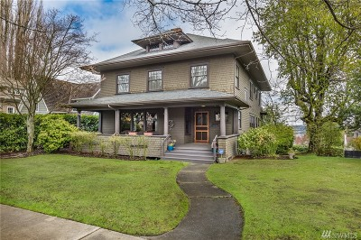 Single Family Home For Sale: 701 N Yakima Ave