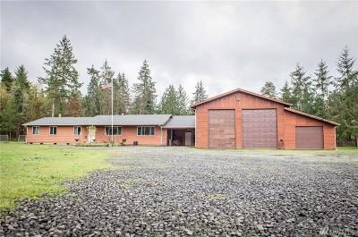 Grays Harbor County Single Family Home Pending Inspection: 547 W Elma Hicklin Rd
