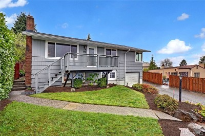 Seattle Single Family Home For Sale: 7911 S Sunnycrest Rd