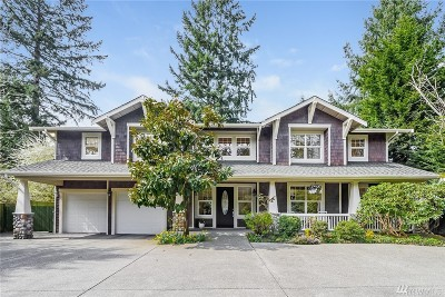 Mercer Island Single Family Home For Sale: 4035 Island Crest Wy