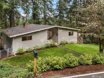 Issaquah Single Family Home For Sale: 1115 Wildwood Blvd. SW