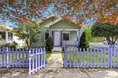 Seattle Single Family Home For Sale: 4602 6th Ave NW