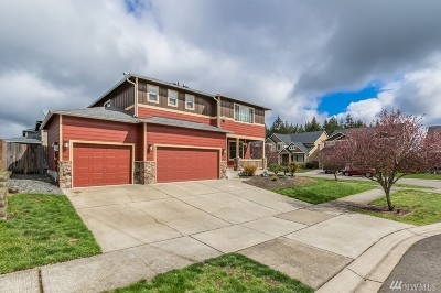 Yelm Single Family Home Pending Inspection: 15432 Callie Ave SE