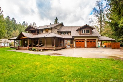 Skagit County Single Family Home For Sale: 37961 Theo Lane
