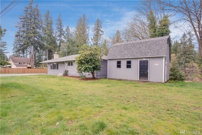 Marysville Single Family Home For Sale: 10210 Shoultes Rd