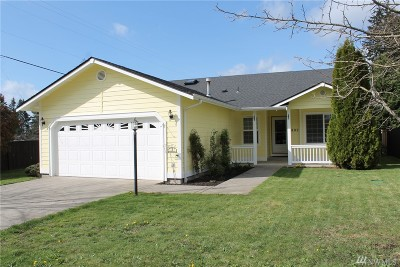 Yelm Single Family Home Pending Inspection: 802 Mountain Aire Lane NW